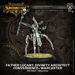 Warcaster Divinity Architect Father Lucant
