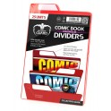 Ultimate Guard Premium Comic Book Dividers Red