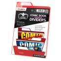 Ultimate Guard Premium Comic Book Dividers Red