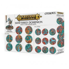 AOS: SHATTERED DOMINION: 25 and 32MM ROUND