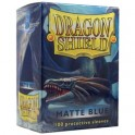 Dragon Shield Standard Sleeves Matte Blue