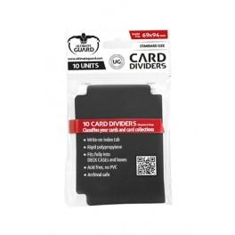 UG Card Dividers Standard Size Black (10)