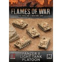 Afrika Korps Panzer II Light Tank Platoon (x5)