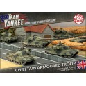 Chieftan Armoured Troop (x5) (Plastic)