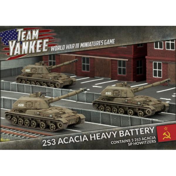 Team Yankee Acacia Heavy SP Howitzer Battery World War III Wargame
