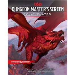 DandD Dungeon Masters Screen Reincarnated