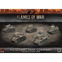 M3 Stuart Company (x5 Plastic)