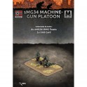 MG34 Machine-gun Platoon (4 teams Plastic)