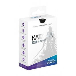UG Katana Sleeves Standard Size Black (100)