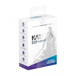 UG Katana Sleeves Standard Size Transparent (100)