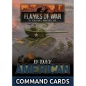 D-Day American Command Cards (x50 cards)