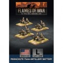 Parachute 75mm Artillery Battery (x4 Plastic)