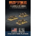 57mm Anti-Tank Platoon (x3 Plastic)