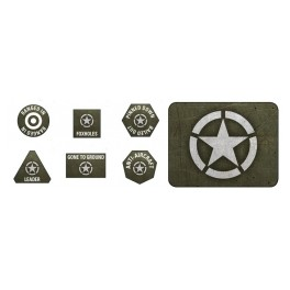 American LW Tokens (x20) and Objectives (x2)