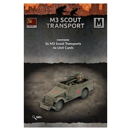 M3 SCOUT TRANSPORTS (x3 vehicles)