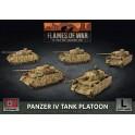Panzer IV Platoon (x5 Plastic)