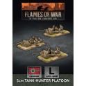 5cm Tank Hunter Platoon (x3 Plastic)