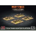 7.5cm Tank Hunter Platoon (x4 Plastic)