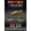 Panzergrenadier Company HQ (Plastic)