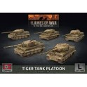Tiger Heavy Tank Platoon (x5 Plastic)