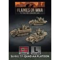 SdKfz 7/1 Quad AA Platoon (x3)