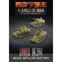 Wespe 10.5cm SP Artillery Battery (x3)