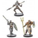 Dungeon and Dragons Eberron Monk Cleric e Fighter