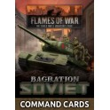 Bagration: Soviet Command Cards (42x Cards)