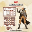 Barbarian Token Set (Player Board and 22 tokens)