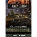 Bagration German Unit Cards