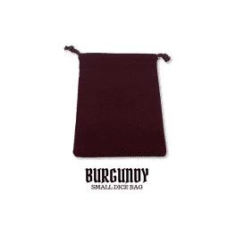 Saco de Dados 15x10cm Burgundy