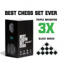 Best Chess Set Ever- Black Board