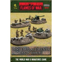 Log Emplacements - dug-in markers