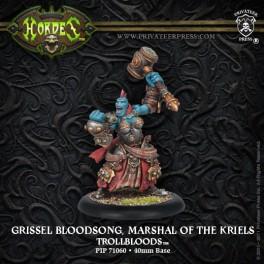 Trollblood Epic Warlock Marshal Of Kriels Grissel