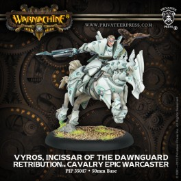 Retribution Epic Warcaster Cavalry Vyros Incissar