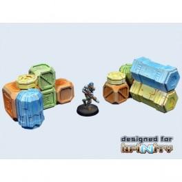 Cargo Crates Set 1