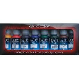 Game Color Estojo de 8 Cores Jogo de tinta