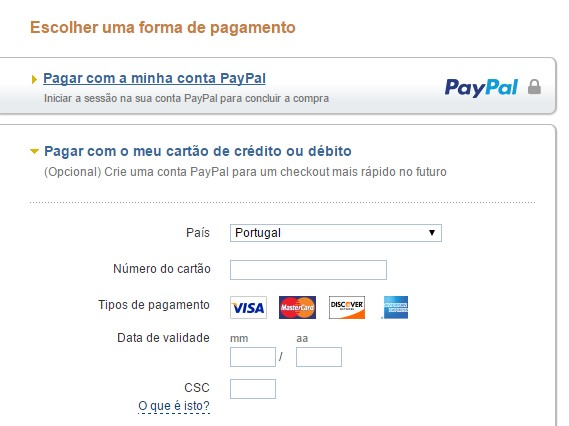 Kult Paypal with credit cards